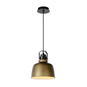LUCIDE 21413/21/03 | Naut Lucide visiace svietidlo vedenie je možné zkrátiť 1x E27 čierna, bronzová