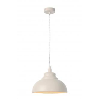 LUCIDE 34400/29/38 | IslaL Lucide visiace svietidlo vedenie je možné zkrátiť 1x E14 béž, biela
