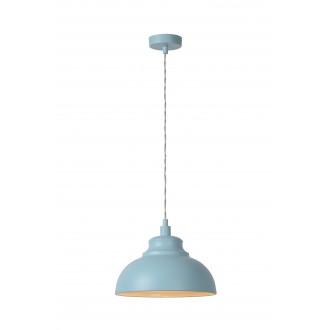 LUCIDE 34400/29/68 | IslaL Lucide visiace svietidlo vedenie je možné zkrátiť 1x E14 svetlomodrá, biela