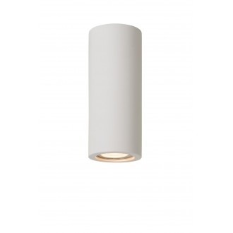 LUCIDE 35100/17/31 | Gipsy-LU Lucide stropné svietidlo malovatelné 1x GU10 biela