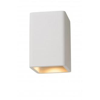LUCIDE 35101/14/31 | Gipsy-LU Lucide stropné svietidlo malovatelné 1x GU10 biela