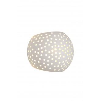LUCIDE 35203/13/31 | Gipsy-LU Lucide stenové svietidlo malovatelné 1x G9 biela