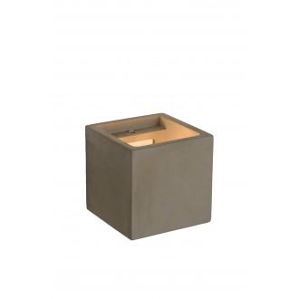 LUCIDE 35208/01/41 | Gipsy-LU Lucide stenové svietidlo malovatelné 1x G9 betón
