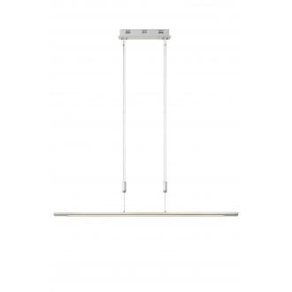 LUCIDE 36413/30/31 | Kwesti Lucide visiace svietidlo prepínač s reguláciou svetla nastaviteľná výška 1x LED 2400lm 2700K biela