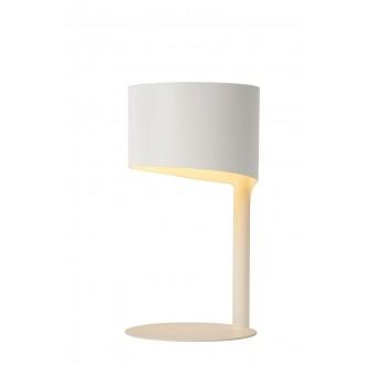 LUCIDE 45504/01/31 | Knulle Lucide stolové svietidlo 28,5cm 1x E14 biela