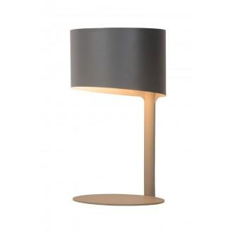 LUCIDE 45504/01/36 | Knulle Lucide stolové svietidlo 28,5cm 1x E14 sivé