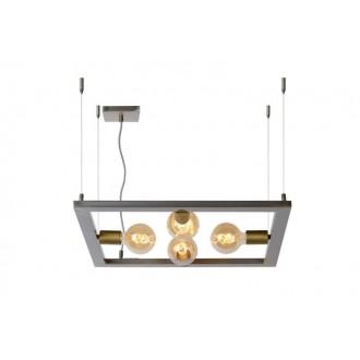 LUCIDE 73403/04/18 | Thor-LU Lucide stolové svietidlo 130cm 4x E27 železo