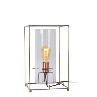 LUCIDE 78586/01/17 | Julot Lucide stolové svietidlo 40cm 1x E27 bronzová