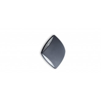 LUTEC 5186902118 | Pilo Lutec stenové svietidlo 1x LED 760lm 4000K IP54 antracitová sivá, priesvitné