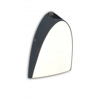 LUTEC 5188801118 | Apollo-LU Lutec stenové svietidlo 1x LED 800lm 3000K IP54 antracitová sivá, opál