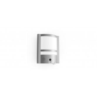 LUTEC 5190601118 | Secury_Light-Vesta Lutec svietidlo skamerou stenové pohybový senzor, svetelný senzor - súmrakový spínač reproduktor, mikrofón, regulovateľná intenzita svetla, otočné prvky, Wifi pripojenie 1x LED 1350lm 3000K IP54 zušľachtená oceľ, neh