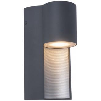 LUTEC 5196501118 | Urban-LU Lutec stenové svietidlo 1x GU10 IP54 tmavošedá