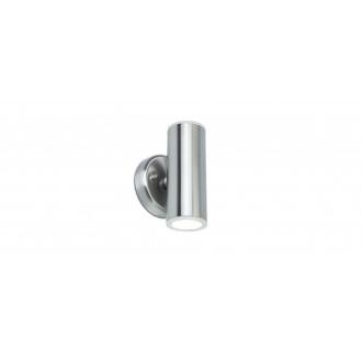 LUTEC 5510805001 | Luca-LU Lutec rameno stenové svietidlo 1x LED 1000lm 3000K IP44 zušľachtená oceľ, nehrdzavejúca oceľ, priesvitné