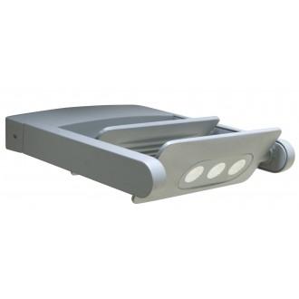LUTEC 5614402118 | Mini-LedspoT Lutec rameno stenové svietidlo otočné prvky 2x LED 1210lm 4000K IP65 antracitová sivá