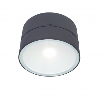 LUTEC 5626002118 | Trumpet-LU Lutec rameno stenové svietidlo otočné prvky 1x LED 1650lm 4000K IP54 antracitová sivá
