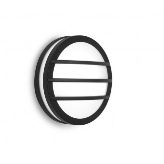 LUTEC 6336101118 | Titan Lutec stenové, stropné svietidlo 1x E27 IP54 tmavo sivé, opál