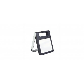 LUTEC 6907701331 | Padlight Lutec prenosné, stolové svietidlo dotykový prepínač s reguláciou svetla slnečné kolektorové / solárne, regulovateľná intenzita svetla, USB prijímač, nabíjačka na telefón, nabíjačka na mobil, otočné prvky 1x LED 200lm 4000K IP44