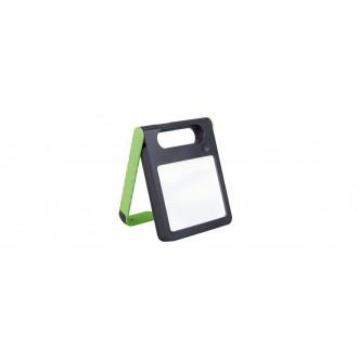 LUTEC 6907701339 | Padlight Lutec prenosné, stolové svietidlo dotykový prepínač s reguláciou svetla slnečné kolektorové / solárne, regulovateľná intenzita svetla, USB prijímač, nabíjačka na telefón, nabíjačka na mobil, otočné prvky 1x LED 200lm 4000K IP44