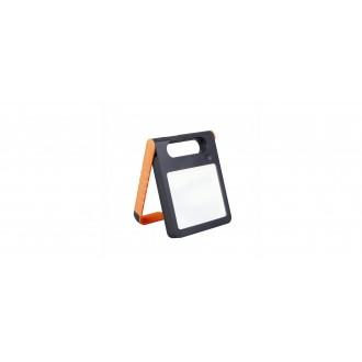LUTEC 6907701340 | Padlight Lutec prenosné, stolové svietidlo dotykový prepínač s reguláciou svetla slnečné kolektorové / solárne, regulovateľná intenzita svetla, USB prijímač, nabíjačka na telefón, nabíjačka na mobil, otočné prvky 1x LED 200lm 4000K IP44