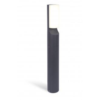LUTEC 7188601125 | Bati Lutec stojaté svietidlo 65cm 1x LED 1100lm 4000K IP44 tmavošedá, opál