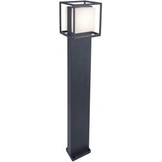 LUTEC 7199201118 | Cruz-LU Lutec stojaté svietidlo 75cm 1x LED 1000lm 3000K IP54 tmavošedá, opál
