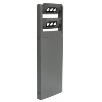 LUTEC 7214604118 | Mini-LedspoT Lutec stojaté svietidlo 61,6cm otočné prvky 2x LED 1210lm 4000K IP65 antracitová sivá