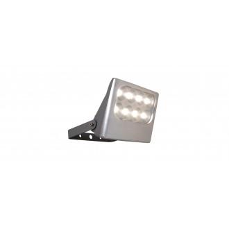 LUTEC 7617001112 | Negara Lutec svetlomet svietidlo otočné prvky 1x LED 1540lm 4000K IP54 strieborno sivá, priesvitné