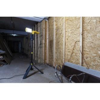 LUTEC 7629001341 | Peri-LU Lutec prenosné svetlomet otočné prvky, nastaviteľná výška, vybavené vedením a zástrčkou 2x LED 3200lm 5000K IP54 antracitová sivá, žltá, morené