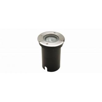 LUTEC 7700511012 | Berlin-LU Lutec zabudovateľné svietidlo Ø110mm 1x GU10 IP67 zušľachtená oceľ, nehrdzavejúca oceľ, priesvitné