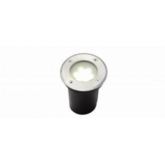 LUTEC 7700513012 | Berlin-LU Lutec zabudovateľné svietidlo Ø110mm 1x LED 180lm 4000K IP67 zušľachtená oceľ, nehrdzavejúca oceľ, priesvitné