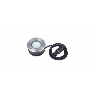LUTEC 7704212012 | Cydops Lutec zabudovateľné svietidlo Ø110mm 1x LED 580lm 4000K IP67 zušľachtená oceľ, nehrdzavejúca oceľ, priesvitné