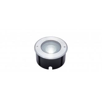 LUTEC 7704801012 | Denver-LU Lutec zabudovateľné svietidlo Ø140mm 1x LED 1030lm 4000K IP67 zušľachtená oceľ, nehrdzavejúca oceľ, priesvitné
