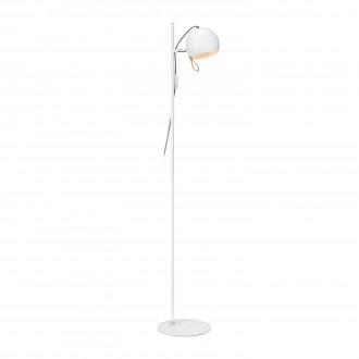MARKSLOJD 106617   Ball-MS Markslojd stojaté svietidlo 138cm prepínač na vedení otočné prvky 1x E14 chróm, biela, hnedá