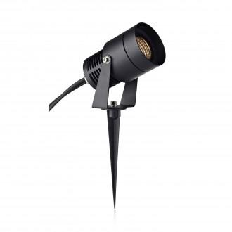 MARKSLOJD 106930 | Garden-24 Markslojd stenové, stropné, zapichovacie svietidlo regulovateľná intenzita svetla, otočné prvky 1x LED 330lm 3000K IP44 čierna