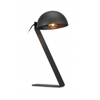 MARKSLOJD 107137 | Flamingo Markslojd stolové svietidlo 44cm prepínač 1x E14 čierna