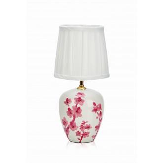 MARKSLOJD 107193 | Cherry Markslojd stolové svietidlo 33cm prepínač 1x E14 biela, ružová, vzorka