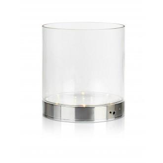MARKSLOJD 107326 | Bouquet Markslojd stolové svietidlo 19cm prepínač batérie/akumulátorové 1x LED 160lm chróm, priesvitné
