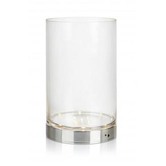 MARKSLOJD 107327 | Bouquet Markslojd stolové svietidlo 29cm prepínač batérie/akumulátorové 1x LED 160lm chróm, priesvitné