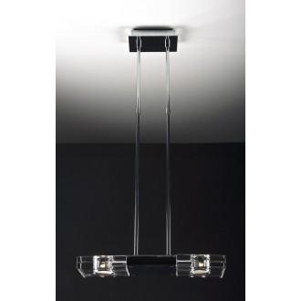 MAXLIGHT 119 12 12 01 | MarsM Maxlight visiace svietidlo 2x G9 chróm, priesvitné