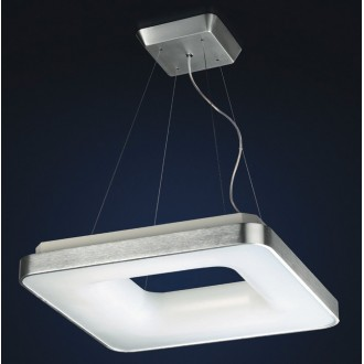 MAXLIGHT 2768/4-1428 | Braga Maxlight visiace svietidlo 4x 2G11 / PL-L/4P 4000K hliník