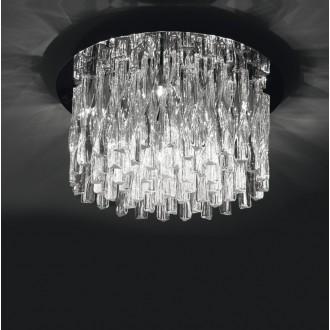 MAXLIGHT 3817/10C | BilbaoM Maxlight stropné svietidlo 10x G4 chróm, priesvitné