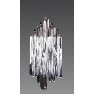 MAXLIGHT 3817/3W | BilbaoM Maxlight stenové svietidlo 3x G4 chróm, priesvitné
