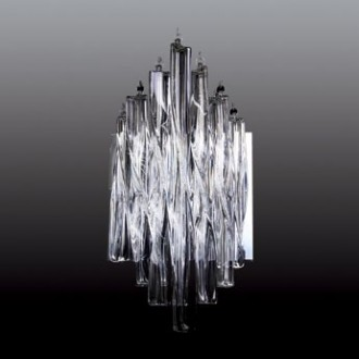 MAXLIGHT 3817/5W | BilbaoM Maxlight stenové svietidlo 5x G4 chróm, priesvitné