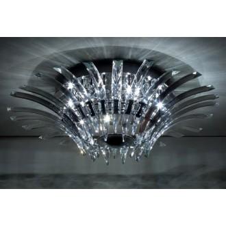 MAXLIGHT 3960/12C   Kristal Maxlight stropné svietidlo 12x G4 chróm, priesvitné