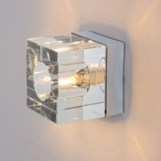 MAXLIGHT C0028 | Ice Maxlight stropné svietidlo 1x G9 priesvitné, chróm