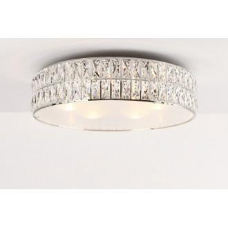 MAXLIGHT C0122 | Diamante Maxlight stropné svietidlo 6x G9 chróm, priesvitné, opál
