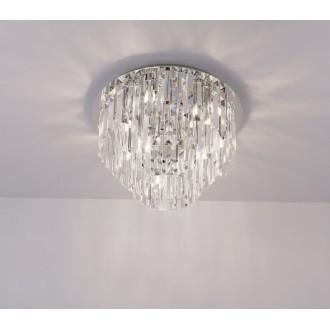 MAXLIGHT C0137 | MonacoM Maxlight stropné svietidlo 15x G9 chróm, priesvitné