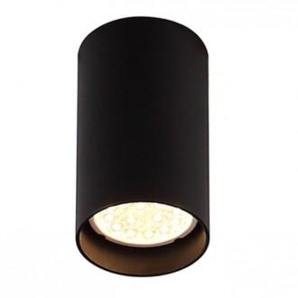 MAXLIGHT C0142   Pet-Round Maxlight stropné svietidlo 1x GU10 čierna