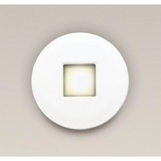 MAXLIGHT H0042 | Oprawa-IP65 Maxlight zabudovateľné svietidlo kruhový Ø85mm 1x MR16 / GU5.3 IP65 biela