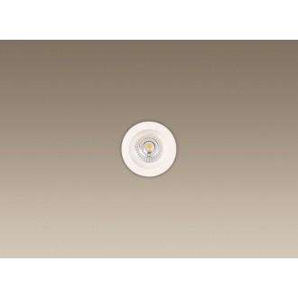 MAXLIGHT H0063 | Technical_spoT Maxlight zabudovateľné svietidlo Ø90mm 1x LED 550lm 3000K IP65 biela